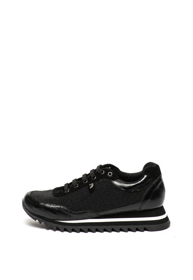 Gioseppo Pantofi sport cu talpa cu striatii si insertii de piele Diekirch Femei