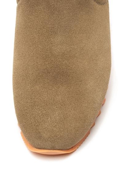 Gioseppo Ghete Chelsea de piele intoarsa, cu captuseala de blana sintetica Eckero Femei