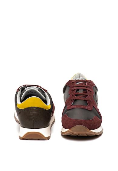 Gioseppo Pantofi sport cu garnituri de piele intoarsa Alleud Barbati
