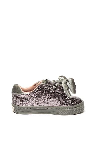 Gioseppo Pantofi sport cu particule stralucitoare si aplicatie cu funda Nideggen Fete