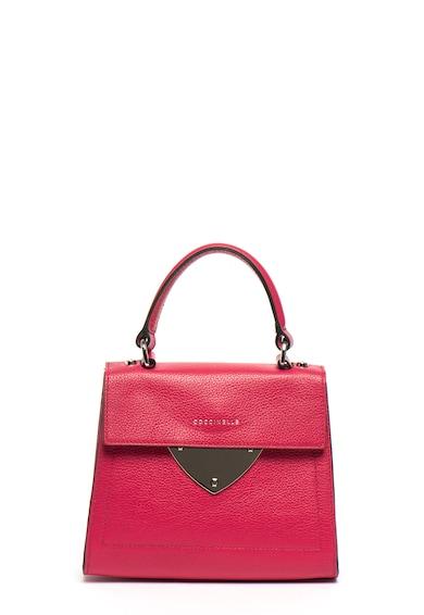 COCCINELLE Малка структурирана кожена чанта Жени
