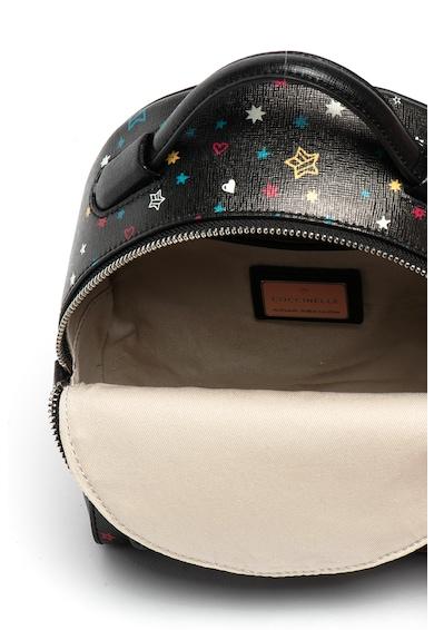 COCCINELLE Clementine mintás texturált bőr hátizsák női