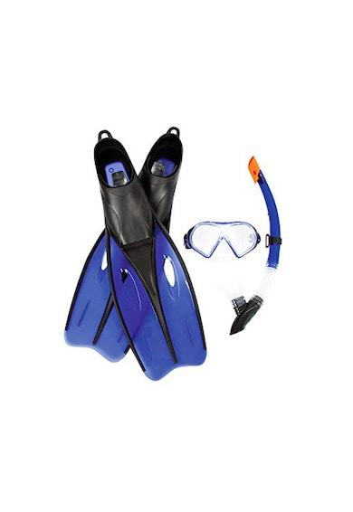 Bestway Set inot  Hydro-Pro Dream Diver Snorkel, 40-42, Blue Femei