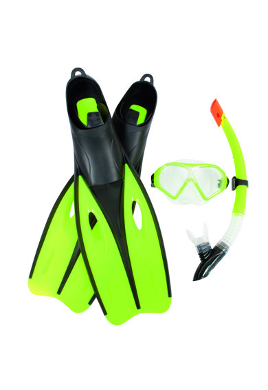 Bestway Set inot  Hydro-Pro Dream Diver Snorkel, 38-39, Green Femei