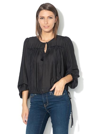Levi's Полупрозрачна блуза с панделка Жени