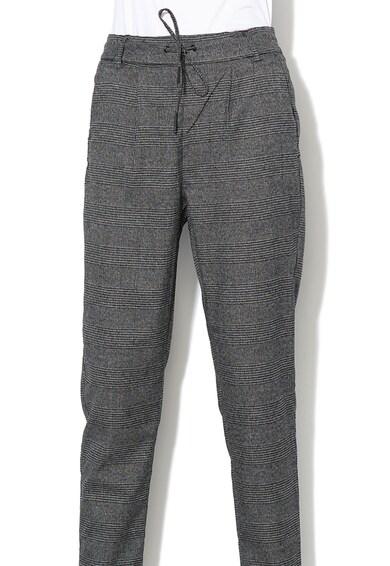Only Кариран панталон Poptrash със стеснен крачол и връзка Жени