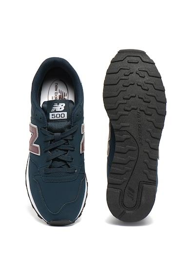 New Balance 500 műbőr sneaker logóval férfi