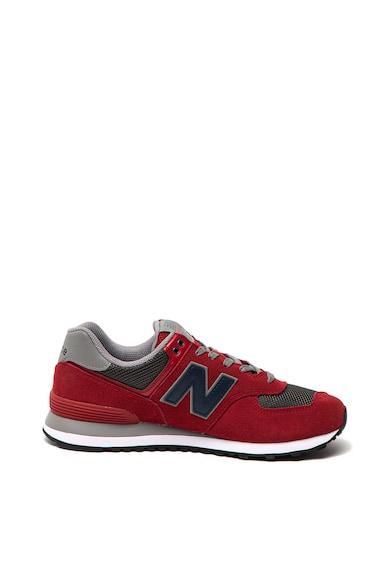 New Balance 574 hálós anyagú nyersbőr sneaker férfi