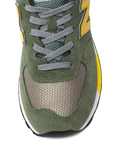 New Balance 574 Classics sneaker nyersbőr szegélyekkel 3 férfi