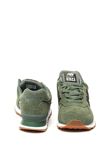 New Balance 574 sneakers nyersbőr betétekkel férfi
