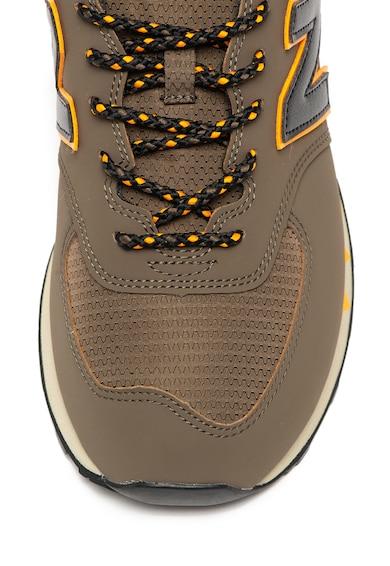 New Balance Pantofi sport cu insertii din material textil 574 Barbati