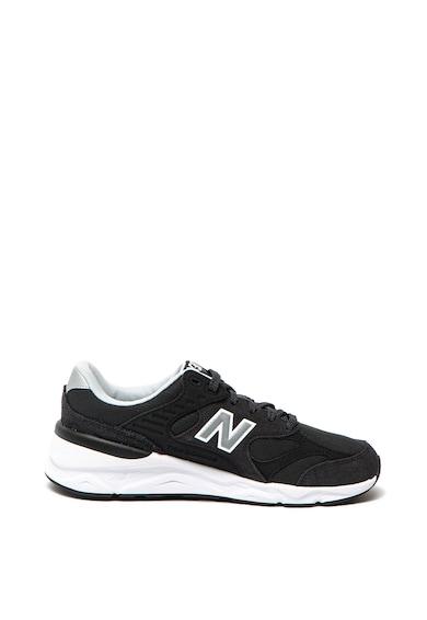 New Balance Олекотени спортни обувки X-90 с велурени детайли Мъже