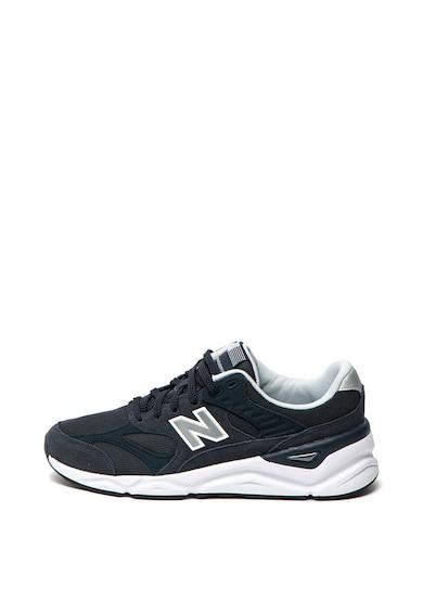 New Balance Pantofi sport de piele, cu garnituri de piele ecologica X90 Barbati