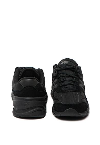 New Balance Pantofi sport usori cu garnituri de piele intoarsa X-90 Barbati