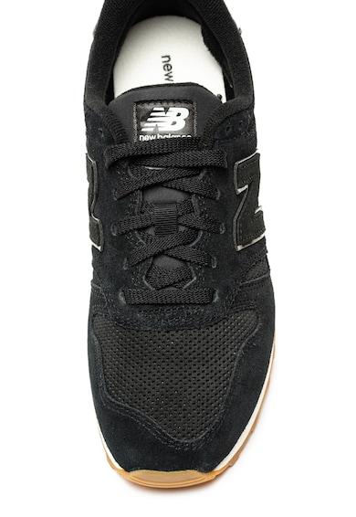 New Balance Pantofi sport de piele intoarsa cu insertii din material textil 373 Femei
