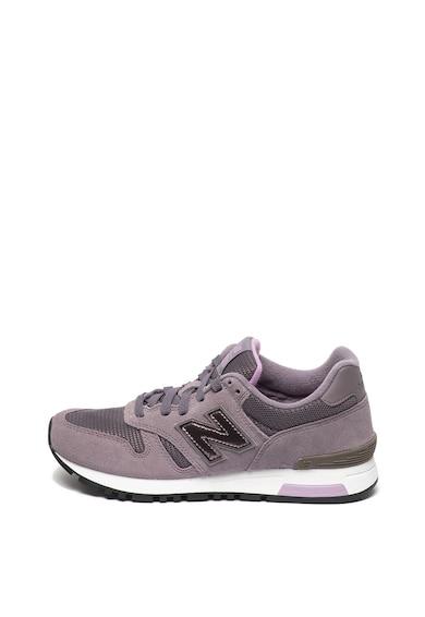 New Balance 565 hálós anyagú nyersbőr sneaker női