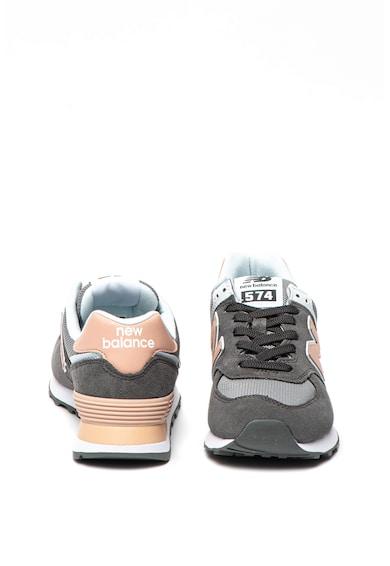 New Balance Pantofi sport de piele intoarsa cu insertii de plasa 575 Femei