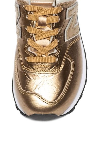 New Balance Спортни обувки 574 с метализиран ефект Жени