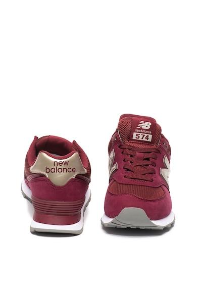New Balance 574 sneaker textilbetétekkel női