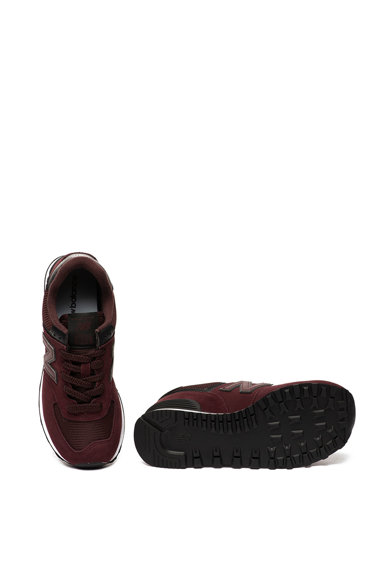 New Balance Pantofi sport de piele intoarsa si plasa Classic 574 Femei