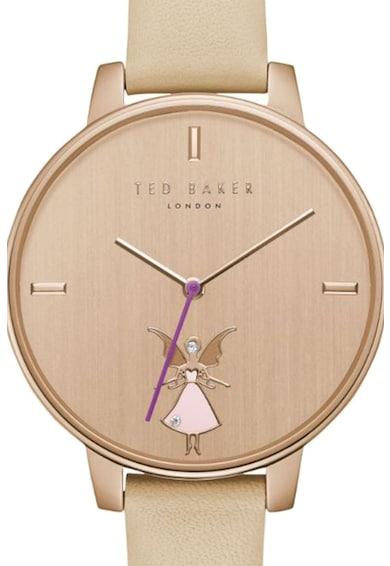 Ted Baker Часовник Kate Fairy с кожена каишка Жени
