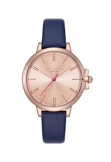 Ted Baker Часовник с кожена каишка Жени