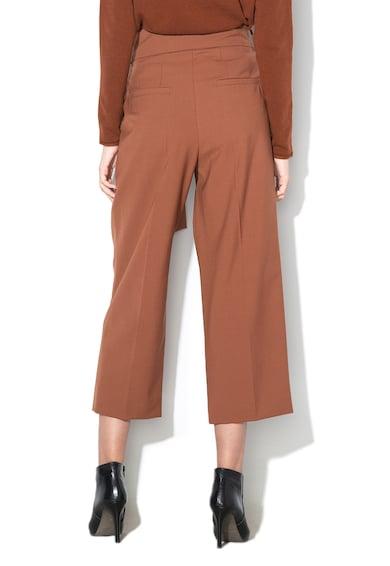 Marella Pantaloni din amestec de lana virgina, cu croiala ampla Birra Femei