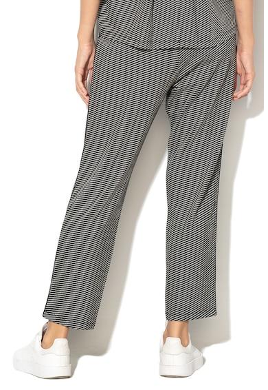 Marella Pantaloni din tricot fin cu model geometric Milord Femei