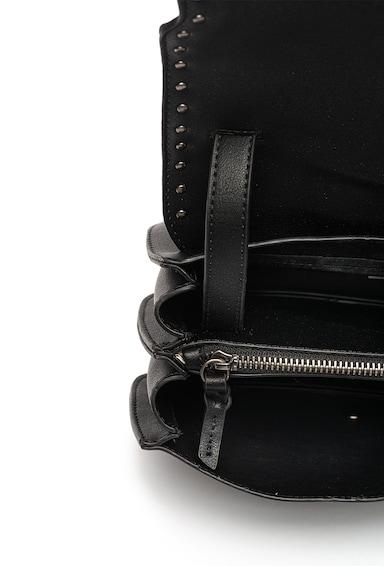 Pepe Jeans London Geanta crossbody de piele ecologica cu detaliu franjurat Arya Femei