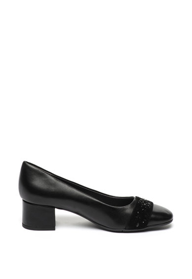 Jana Shoes Кожени обувки с велур Жени