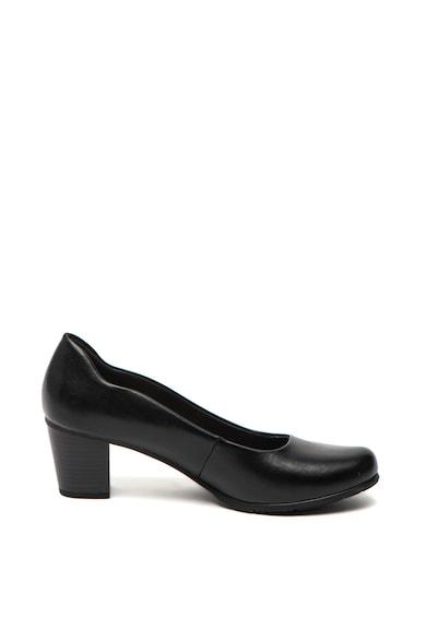Jana Shoes Кожени обувки с висок ток Жени