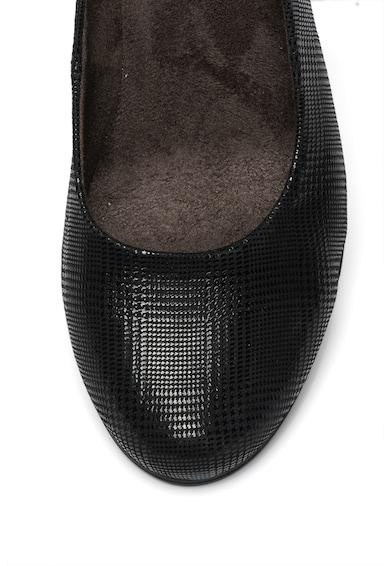 Jana Shoes Кожени обувки с бляскав ефект Жени