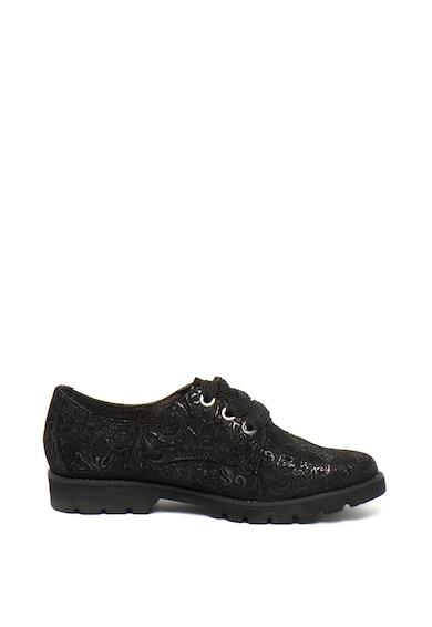Jana Shoes Pantofi de piele cu model lucios Femei