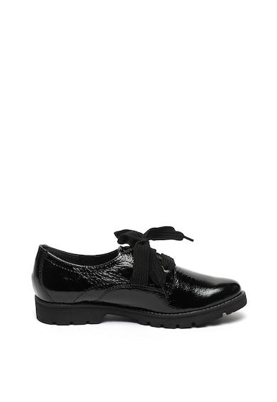 Jana Shoes Обувки Oxford от лачена кожа Жени