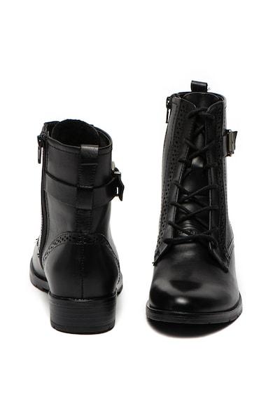 Jana Shoes Кожени боти с токи Жени