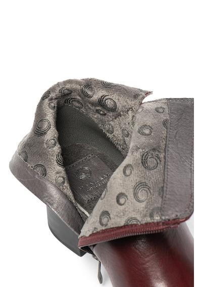 Jana Shoes Кожени боти с пухена вата Жени
