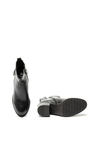 Jana Shoes Кожени боти с нитове Жени