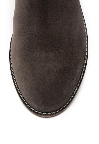 Jana Shoes Велурени боти Chelsea Жени