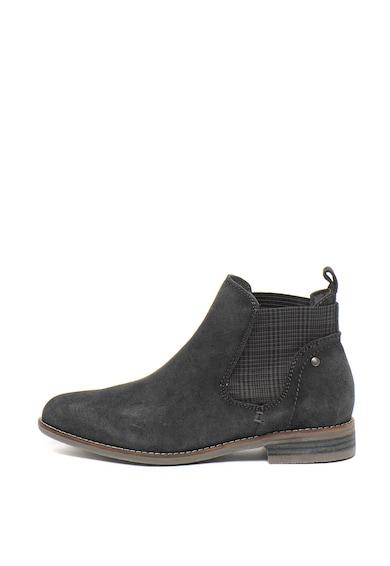Jana Shoes Велурени боти Chelsea с антибактериална подплата Жени