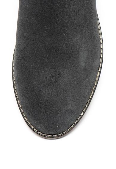 Jana Shoes Ghete Chelsea de piele intoarsa cu captuseala antibacteriana Femei