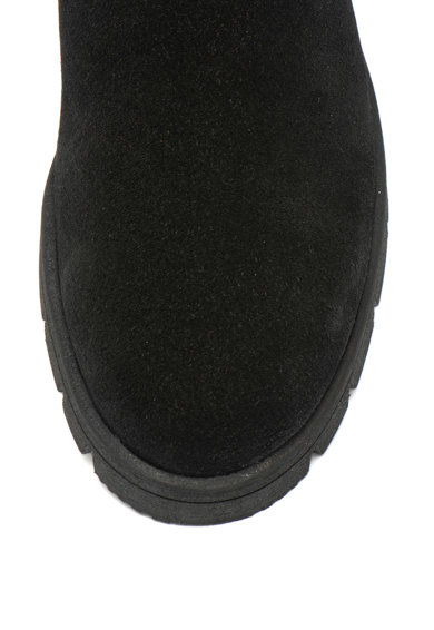 Jana Shoes Cizme medii de piele intoarsa Femei