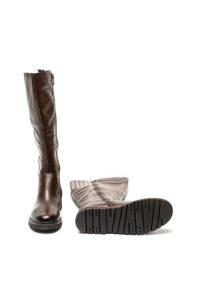 Jana Shoes Кожени боти с еластични зони Жени