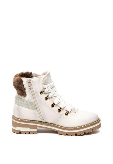 Jana Shoes Боти от еко кожа с елементи от еко пух Жени