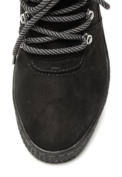 Jana Shoes Боти от еко велур Жени