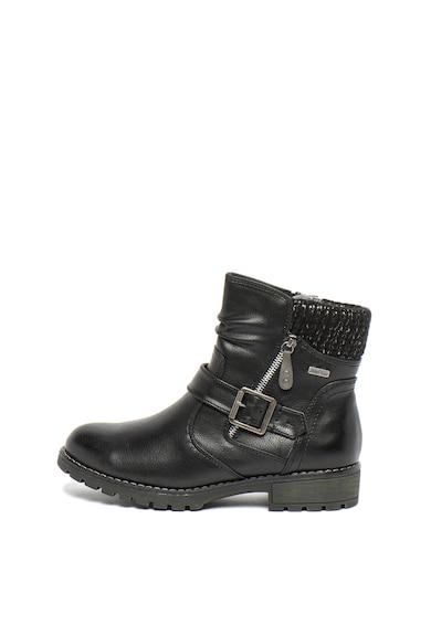 Jana Shoes Боти от еко кожа с тока Жени