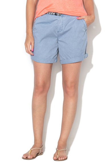 Esprit Къс панталон чино със сплетен колан Жени