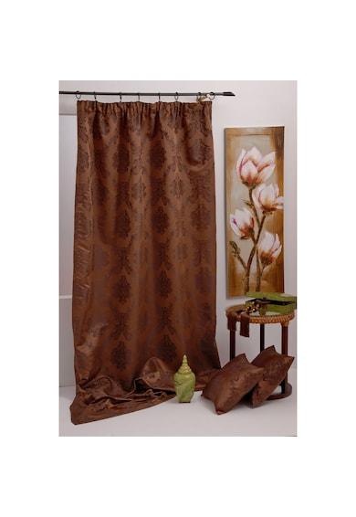 Mendola Home Textiles Draperie Trendy floral  140x245 cm, maro Femei