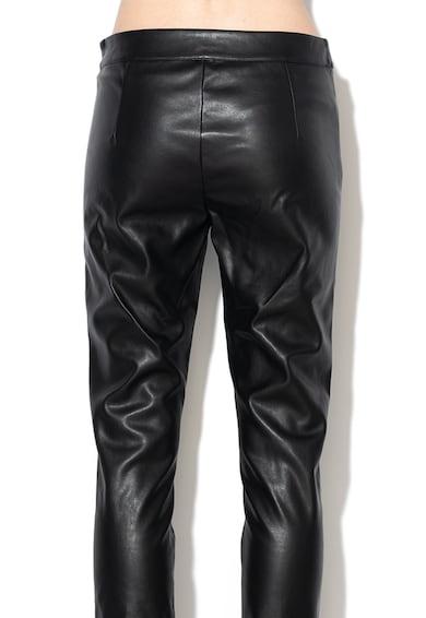 Liu Jo Slim fit műbőr nadrág női