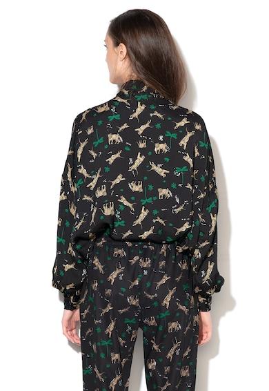 Liu Jo Lágy esésű nagy méretű blúz masnival női