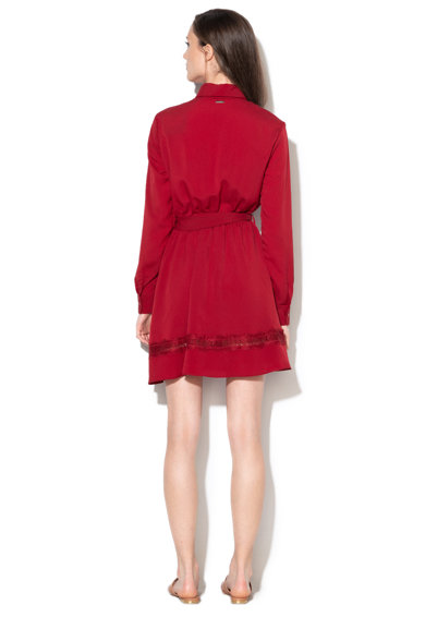 Liu Jo Rochie tip camasa, cu garnituri de dantela Femei